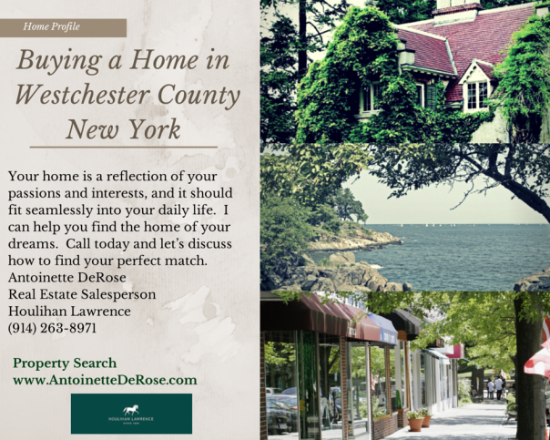 Buying a Home in Westchester County NY