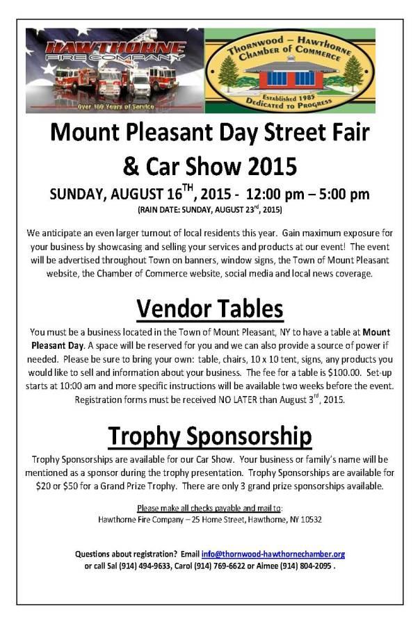 Mt Pleasant Day 2015