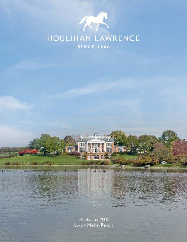 Houlihan Lawrence Westchester NY Luxury Real Estate 2015 Q4