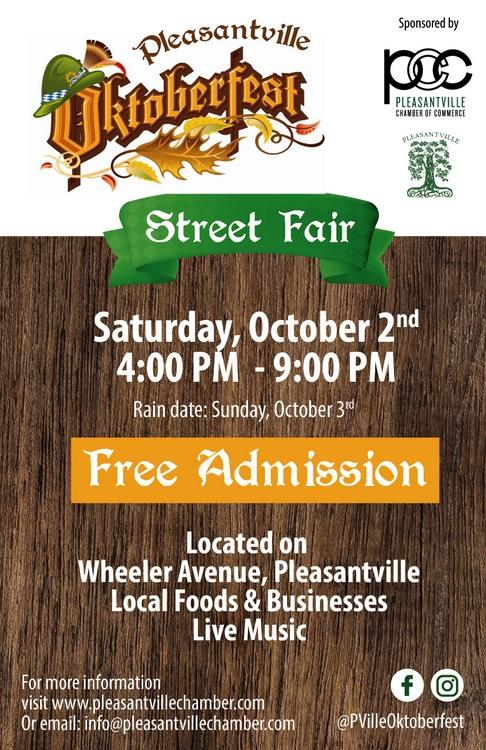 Pleasantville NY Oktoberfest Street Fair